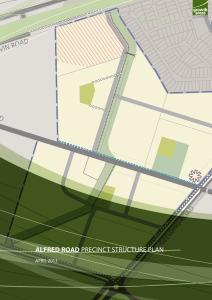 Alfred Road Precinct Structure Plan
