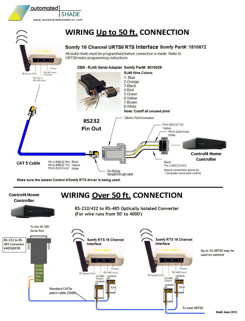 Control4 Rs 232 Serial Pinout 3mb Rj45 Wiring Diagram Doc