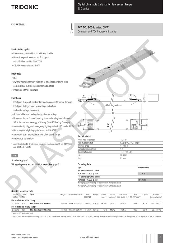 018319301_1 98ae299b026c25533a16c7e2917a1c16 tridonic ballast wiring instructions ewiring tridonic ballast wiring diagram at aneh.co