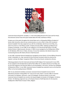 LTG Don Campbell Jr. - Fort Hood Press Center