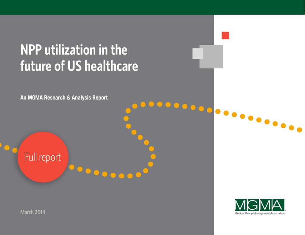 NPP utilization in the future of US healthcare