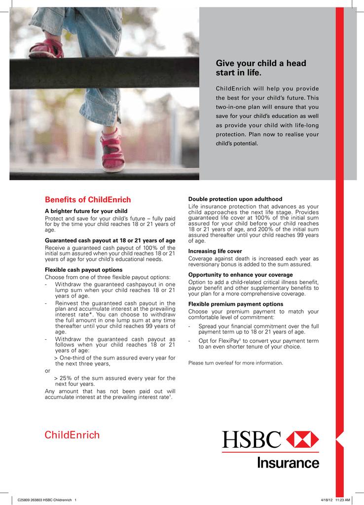 ChildEnrich - HSBC Insurance Singapore