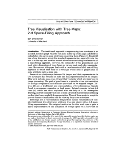 Tree Visualization with Tree-Maps: 2-d Space