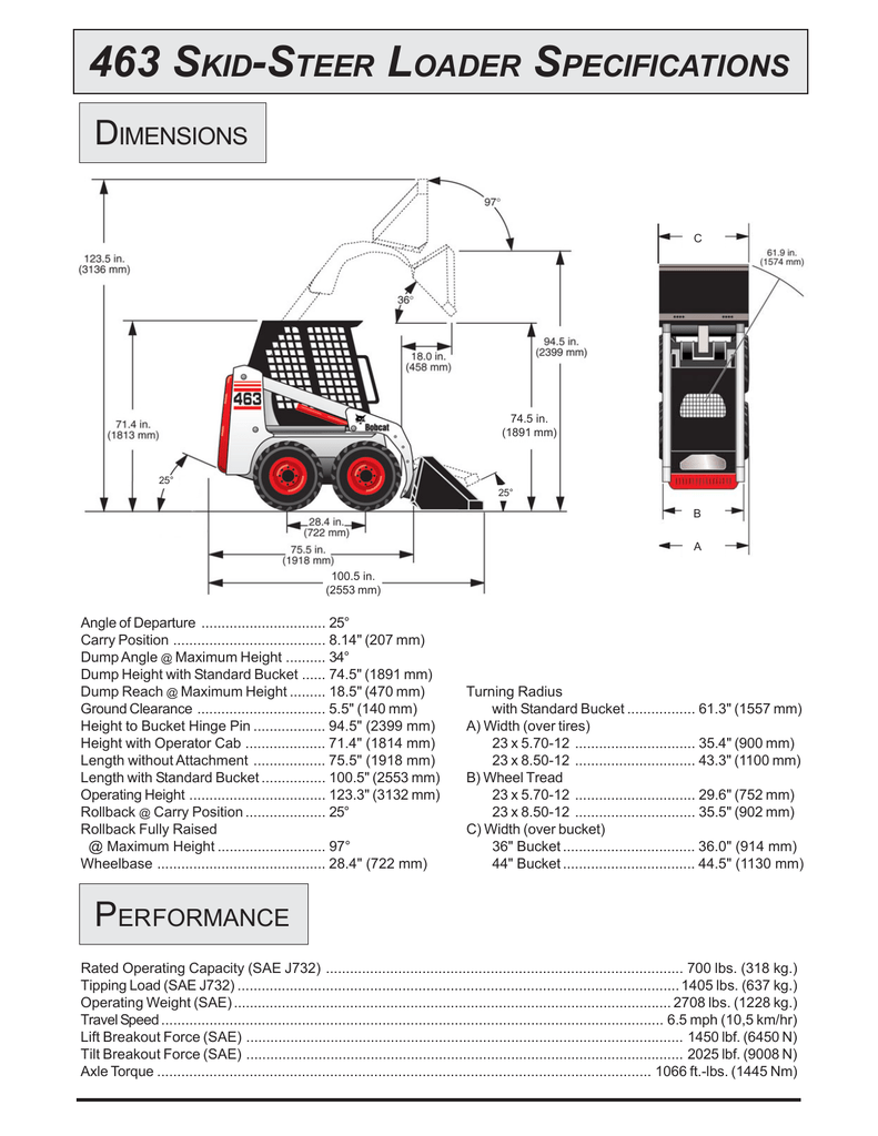 Bobcat Skid Steer Grease Points Diagram Application Wiring 463 Loader Specifications Rh Studylib Net Electrical Diagrams Parts Lookup