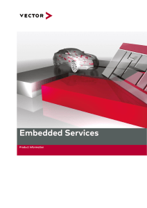 Product Information Services for Embedded Software