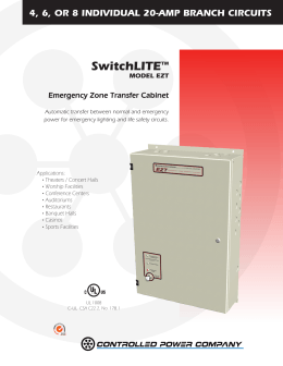Brochure   Controlled Power CompanyCentralized Emergency Lighting Inverters. Eon Lighting Inverter. Home Design Ideas
