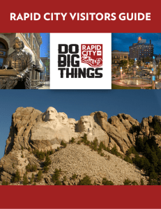 RAPID CITY VISITORS GUIDE