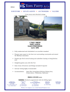 surveyors estate agents auctioneers valuers i tan y bryn pant llwyd