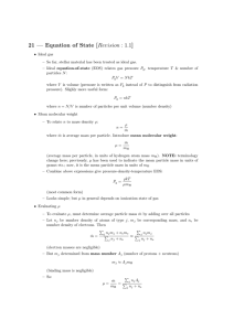21 — Equation of State [Revision : 1.1]