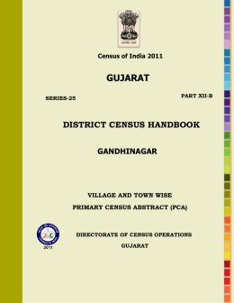 gujarat - Census of India