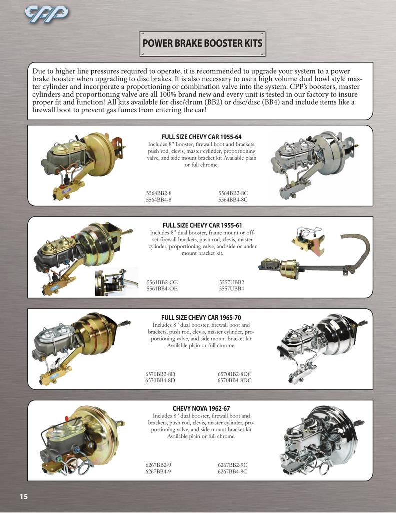 Power Brake Booster Kits 1948 Ford Master Cylinder 018326911 1 Cb483b52dca68e52b18efc2a9bd3feaf