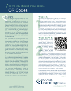 7 Things You Should Know About QR Codes