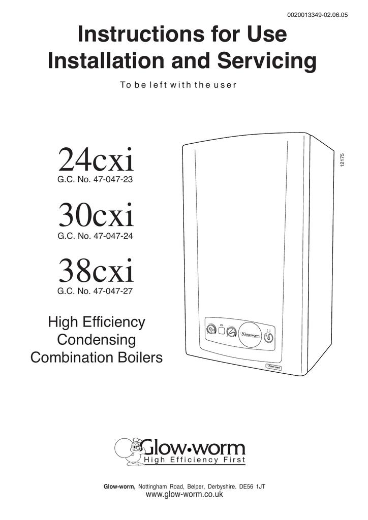 Contemporary Glow Worm 30cxi Reset Button Frieze - Schematic Diagram ...