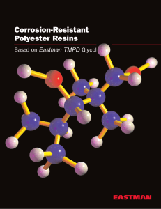 N-349A Corrosion-Resistant Polyester Resins Based on EASTMAN