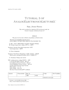 Tutorial 3 of AnalogElectronicsLecture3.