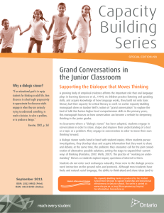 Grand Conversations in the Junior Classroom