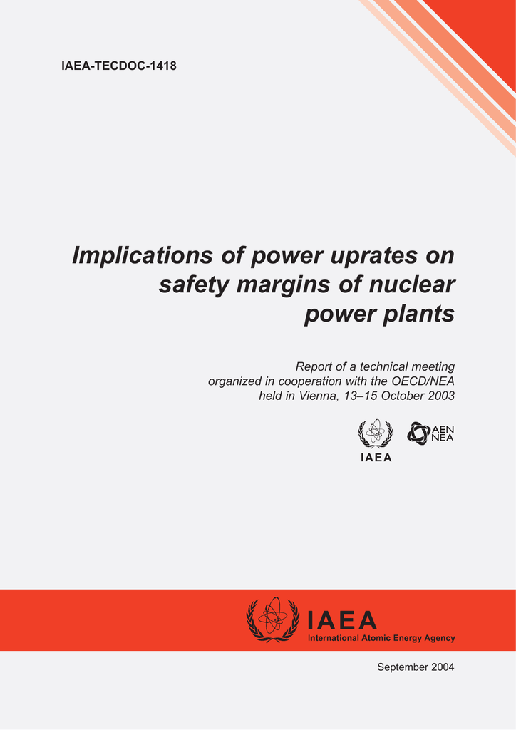 Quality of PSA for Nuclear Powerplants (IAEA TECDOC-1511)
