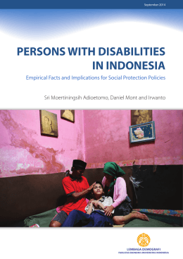 persons with disabilities in indonesia