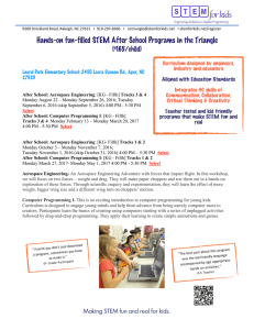Hands-on fun-filled STEM After School Programs in the Triangle