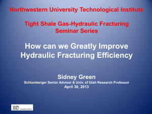 How can we Greatly Improve Hydraulic Fracturing Efficiency
