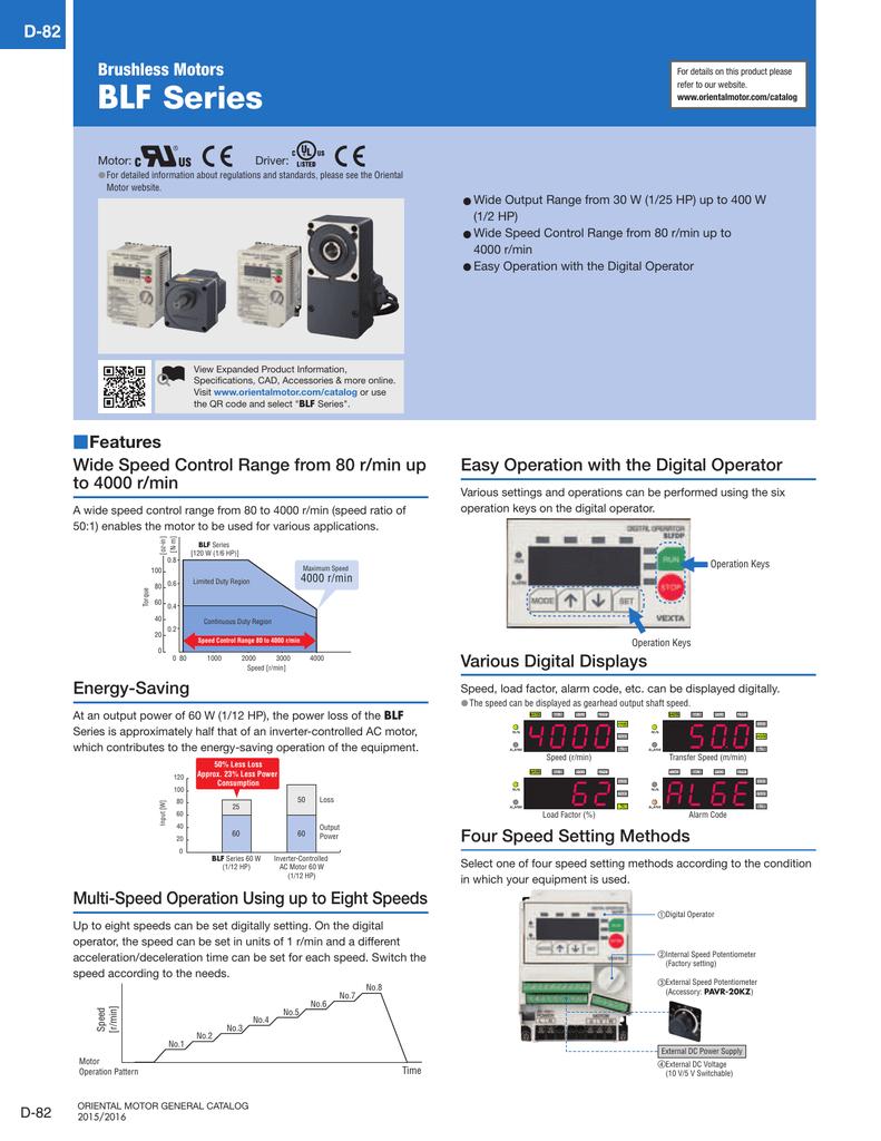 Blf Series Oriental Motor Wiring Diagram