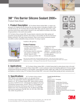 3m fire protection products brochure. Black Bedroom Furniture Sets. Home Design Ideas