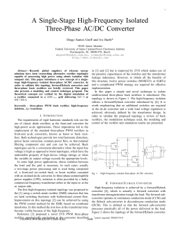 A Single-Stage High-Frequency Isolated Three-Phase AC