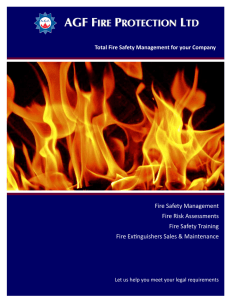 - AGF Fire Protection Ltd