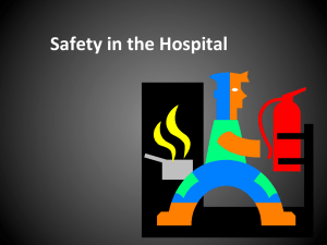 Basic Fire Safety and Hospital Codes PowerPoint