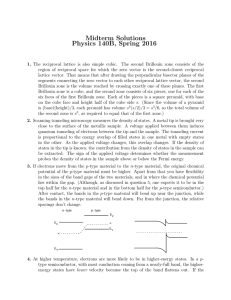 Midterm Solutions Physics 140B, Spring 2016