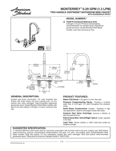Zurn PH6000-HY36 Ferrule for 1//8 Compression Fitting for Aquavantage and Aquaflush Flush Valves