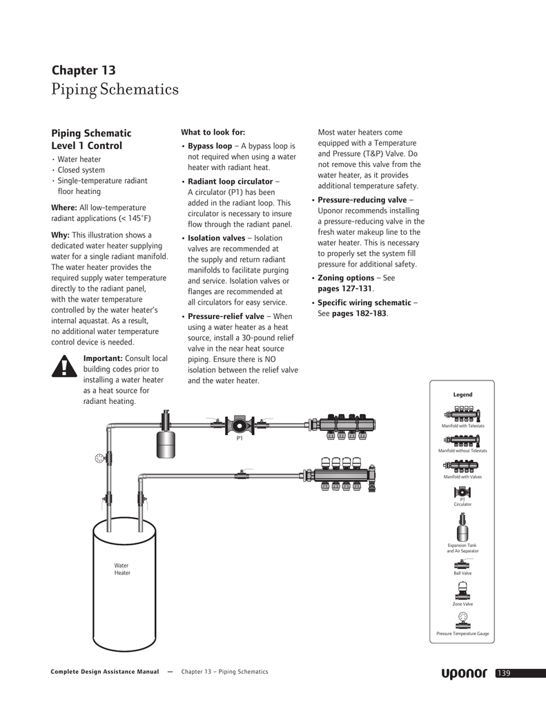 Radiant Heat Piping Schematic Trusted Wiring Diagrams Schematics For Plumbing Diagram