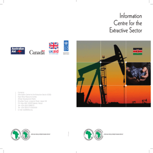 Kenya - Information Centre for the Extractive Sector