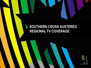 regional tv coverage - Southern Cross Austereo