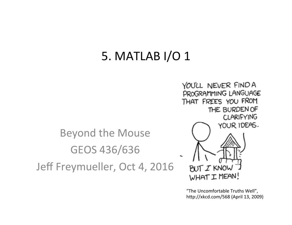 5  matlab i/o 1 - Jeff Freymueller