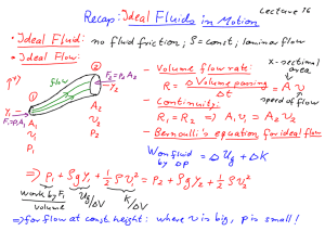 Fluid friction, viscous drag