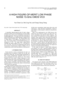 A HIGH FIGURE-OF-MERIT LOW PHASE NOISE 15