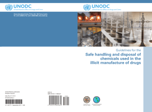 Guidelines for the Safe Handling and Disposal of Chemicals Used in