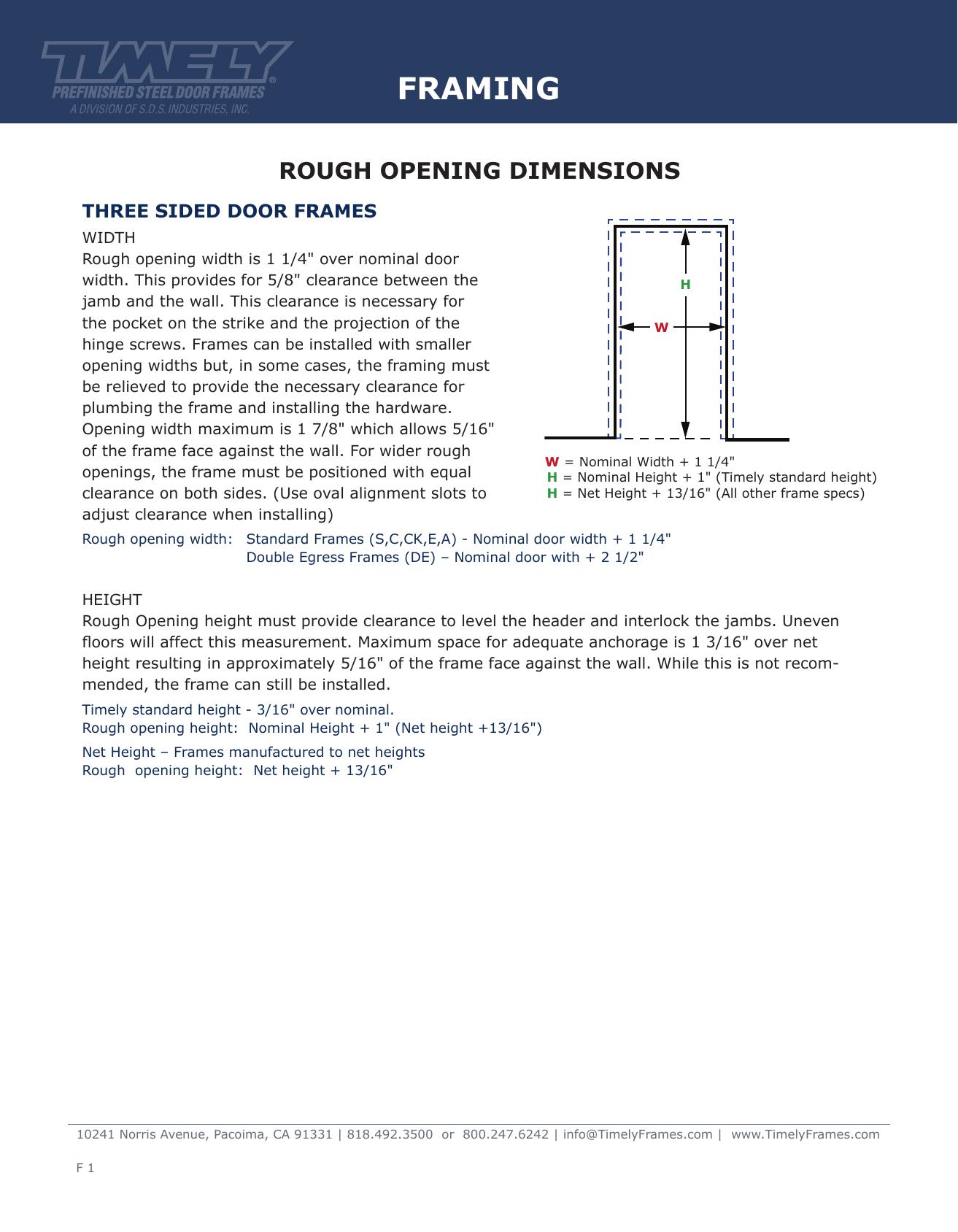 Timely Door Frame - Page 5 - Frame Design & Reviews ✓