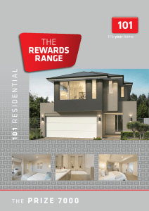 101 Residential: Two Storey Home Builder Perth