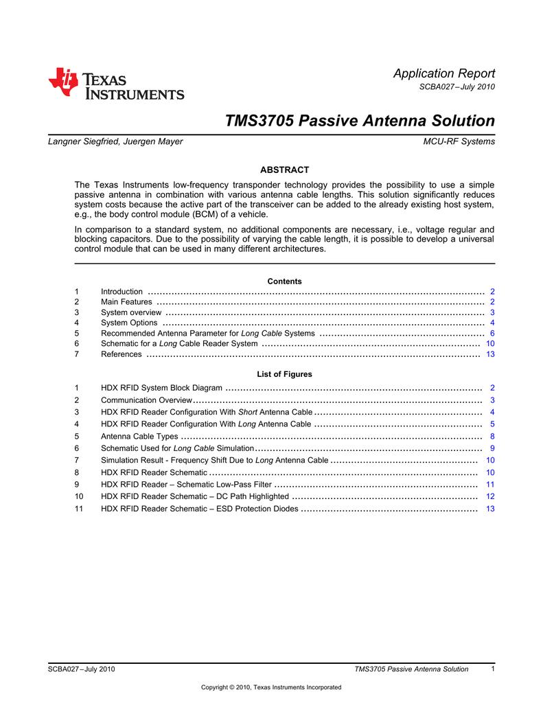 Tms3705 Passive Antenna Solution Schematic 018337242 1 64e4e2078e52c24325bc4bc969715266