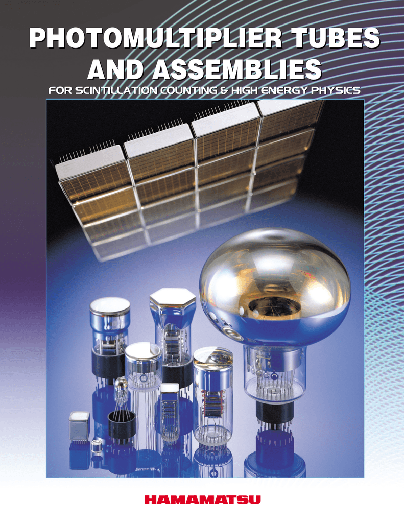 photomultiplier tubes and assemblies