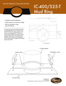 IC-400/525-T Mud Ring