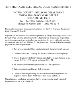 Residential Receptacle Requirements (General)