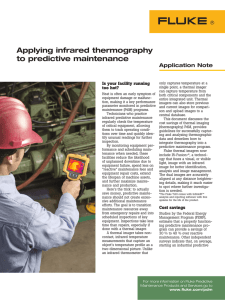 Applying infrared thermography to predictive maintenance