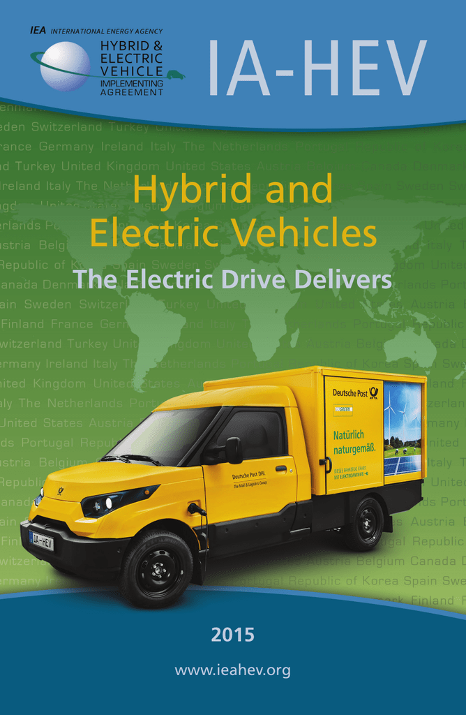 Hybrid and Electric Vehicles - IA-HEV