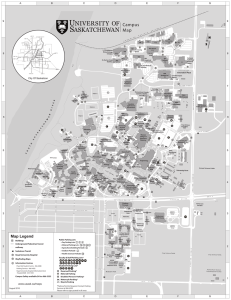 Campus Map - University of Saskatchewan