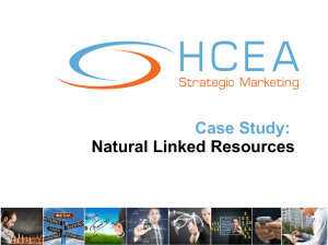 Case Study: Natural Linked Resources