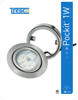 1w puck lighting - Tresco Lighting