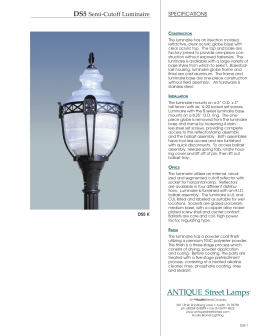 ANTIQUE Street Lamps